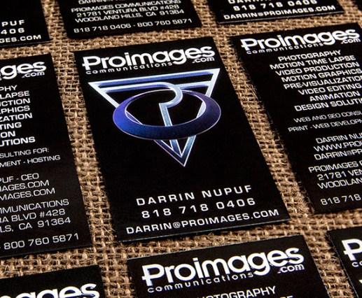 Proimages Business Cards