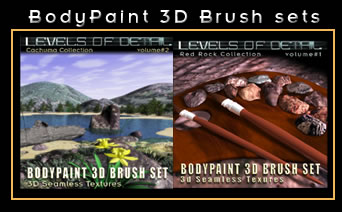 LEVELS OF DETAIL 3D Brushsets