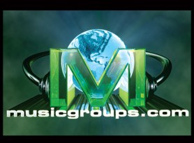 Musicgroups.com logo design