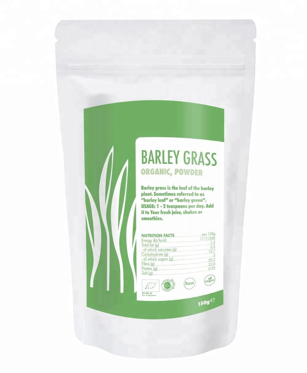 Barley Grass Powder Vegan And Gluten Free Certified ...