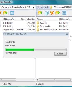 File Transfer - Radmin 3 Remote Support