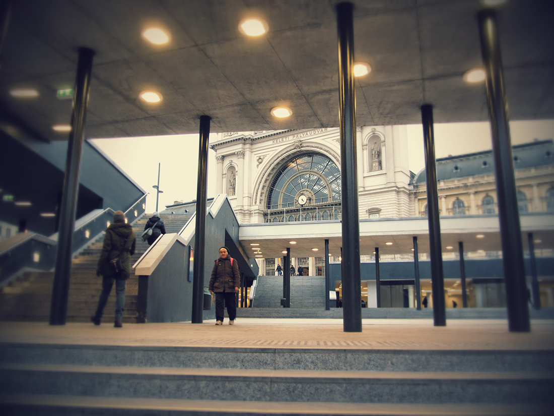 Keleti Station, one of my first pic in the city