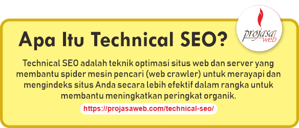apa itu technical seo pengertian technical seo