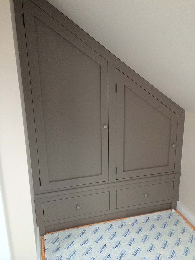 kitchen shelves ideas average cost to reface cabinets bespoke loft furniture | custom fitted