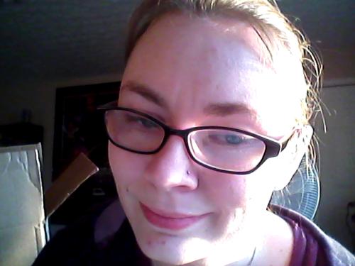 Finally got my nose pierced.