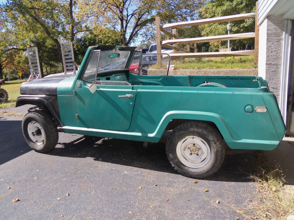 hight resolution of jeep commando for sale 1969 jeepster commando project for sale
