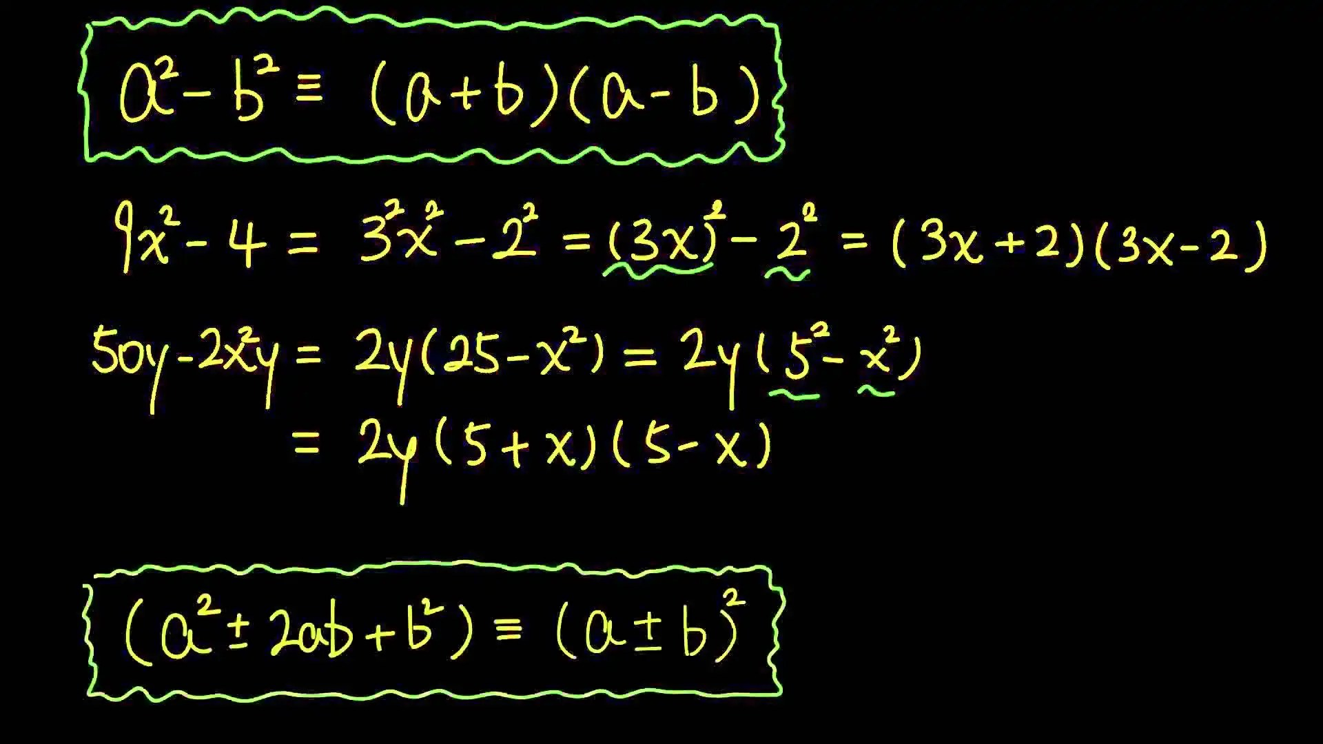4 Factorization By Identities