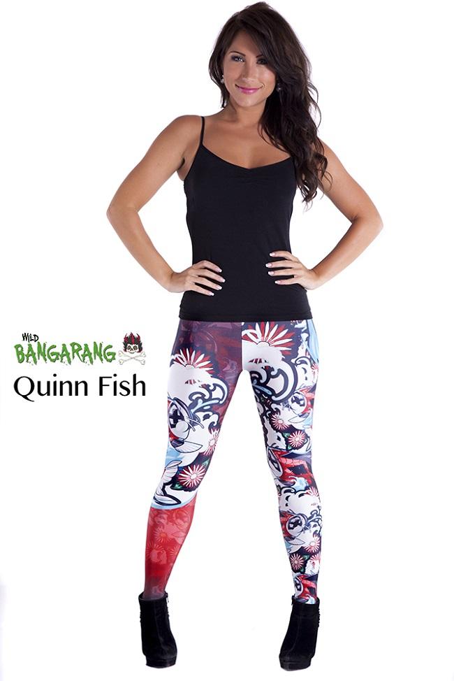 Harley Quinn Wild Bangarang tights
