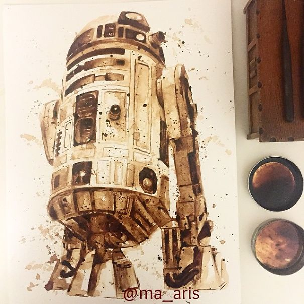 Coffee Art 4