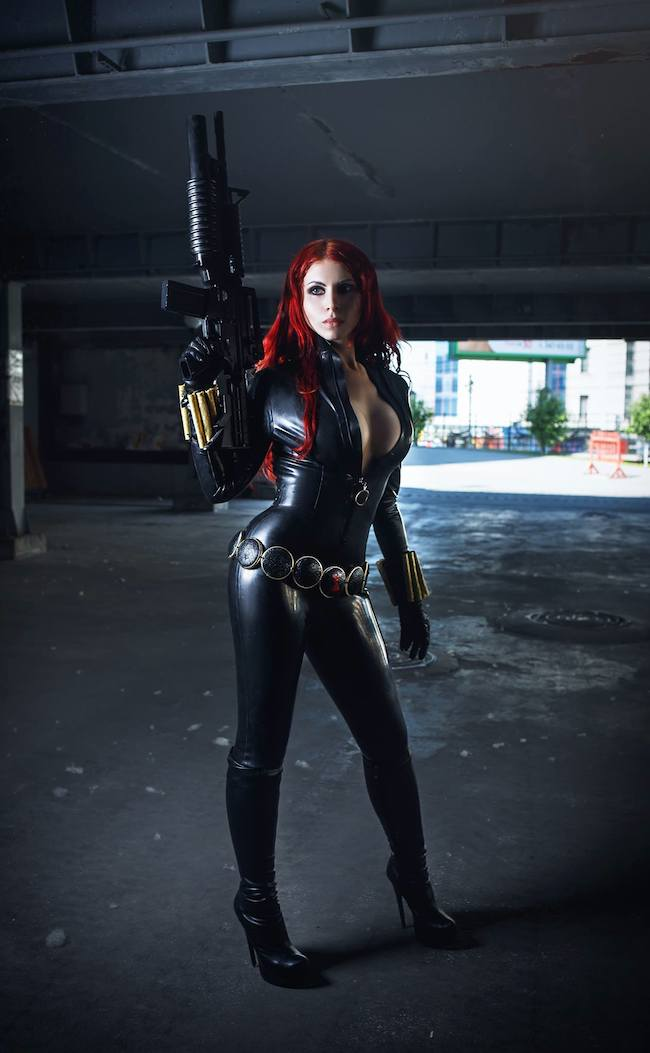 Cosplay Collection Black Widow Elan Nerium