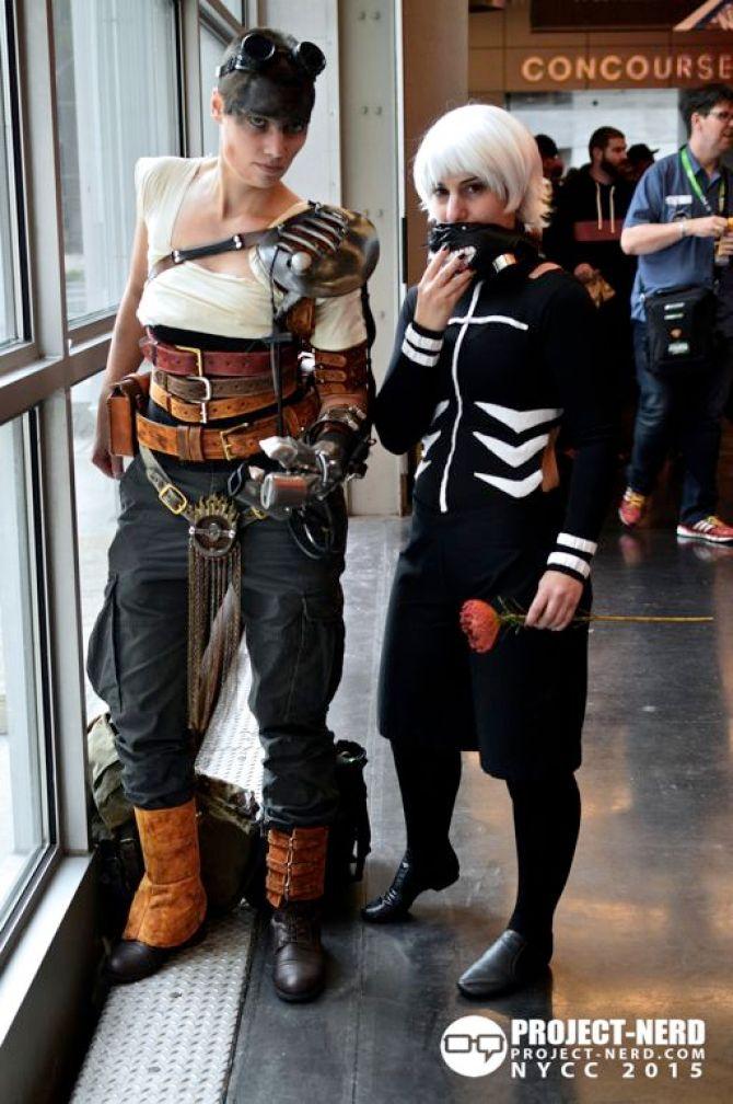 New York Comic Con, NYCC, cosplay, Mad Max, Marvel, DC Comics, cosplayers, 19