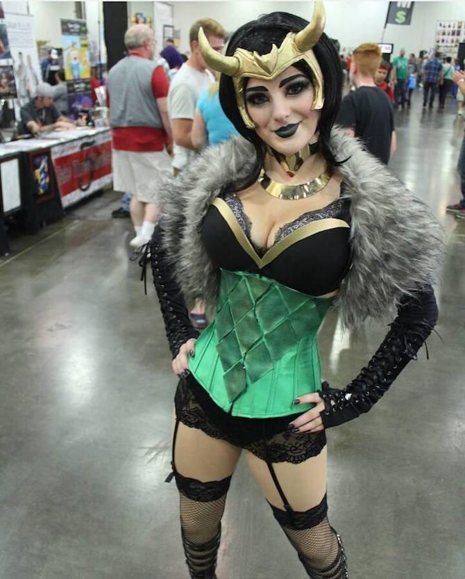 CC Lady Loki Princess Morgan