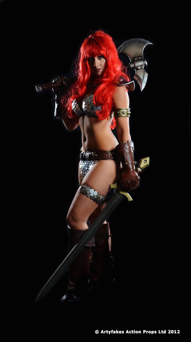 Tabitha Lyons Red Sonja 2