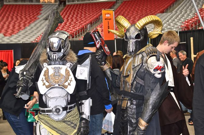3, Marvel, DC Comics, comics, gaming, cosplay, costuming, cosplayers, over 30 cosplay, Phoenix Comicon Fan Fest, 01
