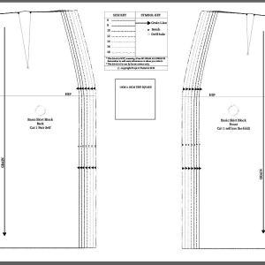 basic skirt block