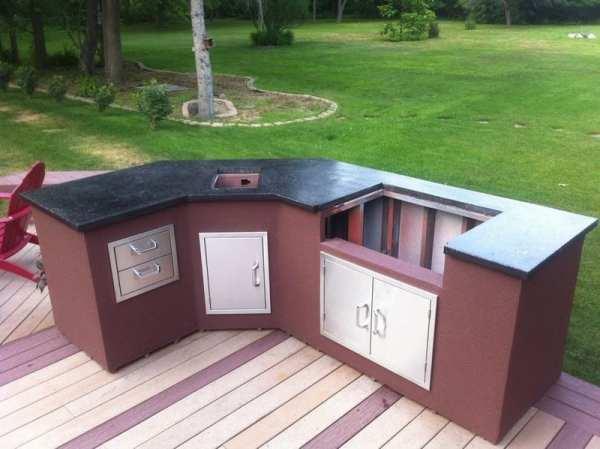 diy outdoor patio kitchen ideas DIY Outdoor Kitchen