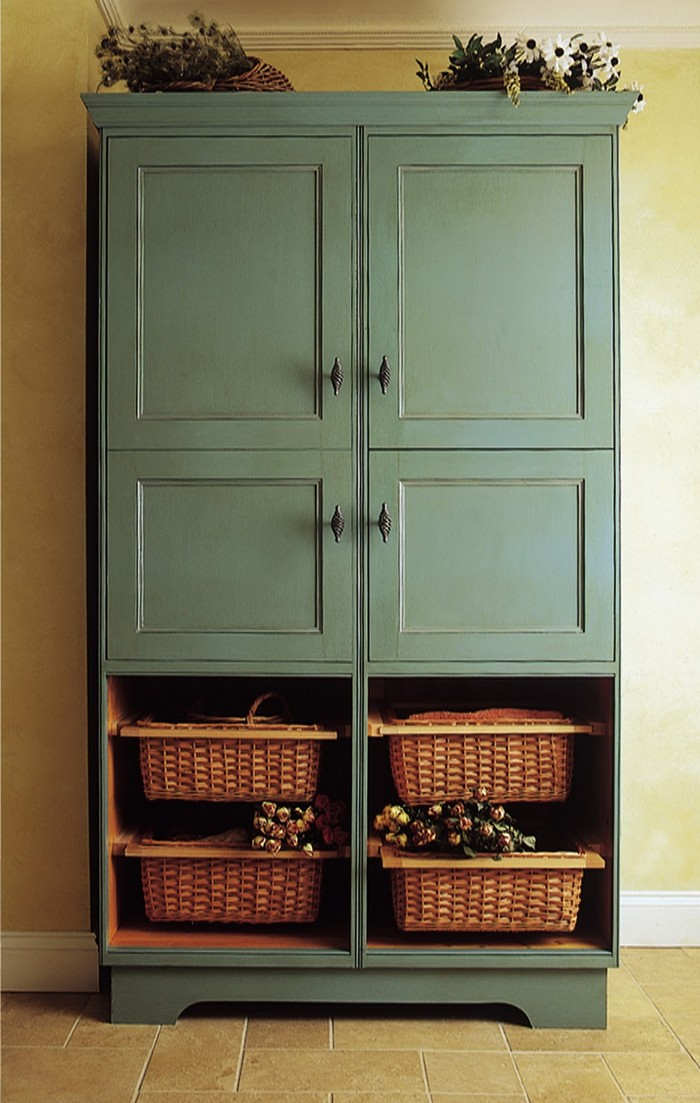 Freestanding Pantry Cabinet
