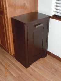 Hide your trash bin by building a tilt-out trash cabinet ...