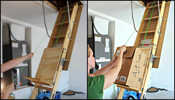 Attic Storage Lift  Your ProjectsOBN