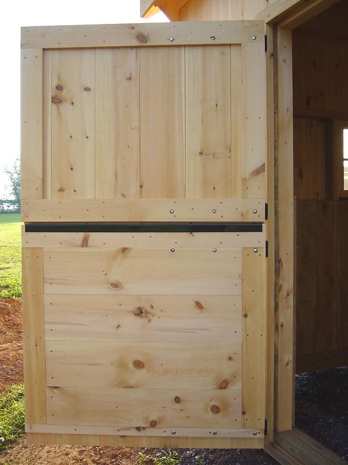 Build your own Dutch barn door!