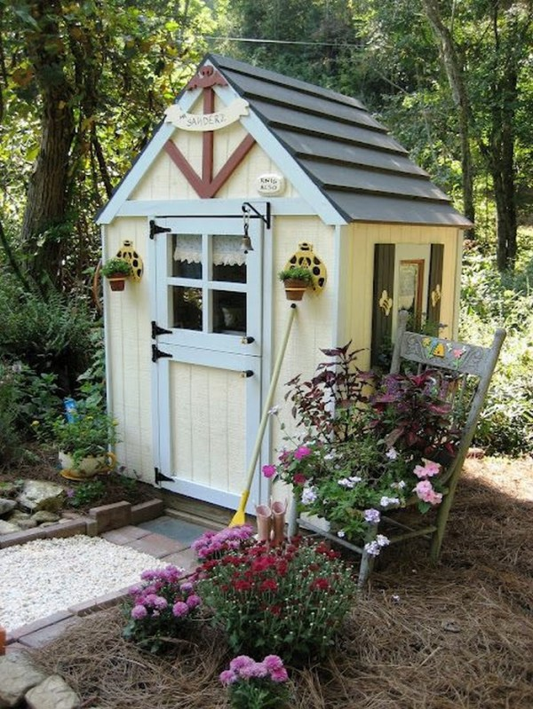 build whimsical tool shed