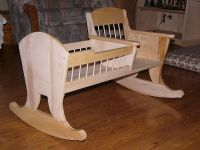 Learn how to build a rocking chair crib | DIY, Rocking Chair