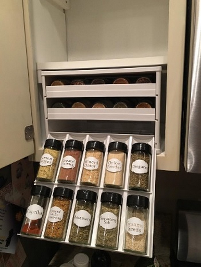How to make a builtin spice rack  Your ProjectsOBN