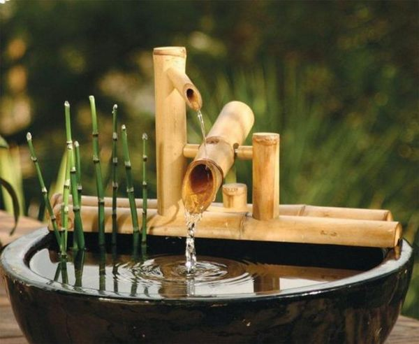 Diy Zen Bamboo Water Feature Projects Obn