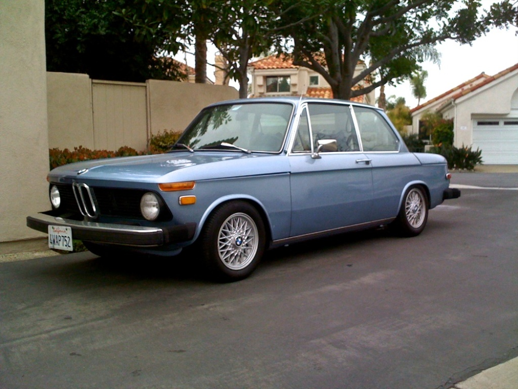 BMW 2002 on Ireland Stage II Springs and Bilstein Sport Shocks