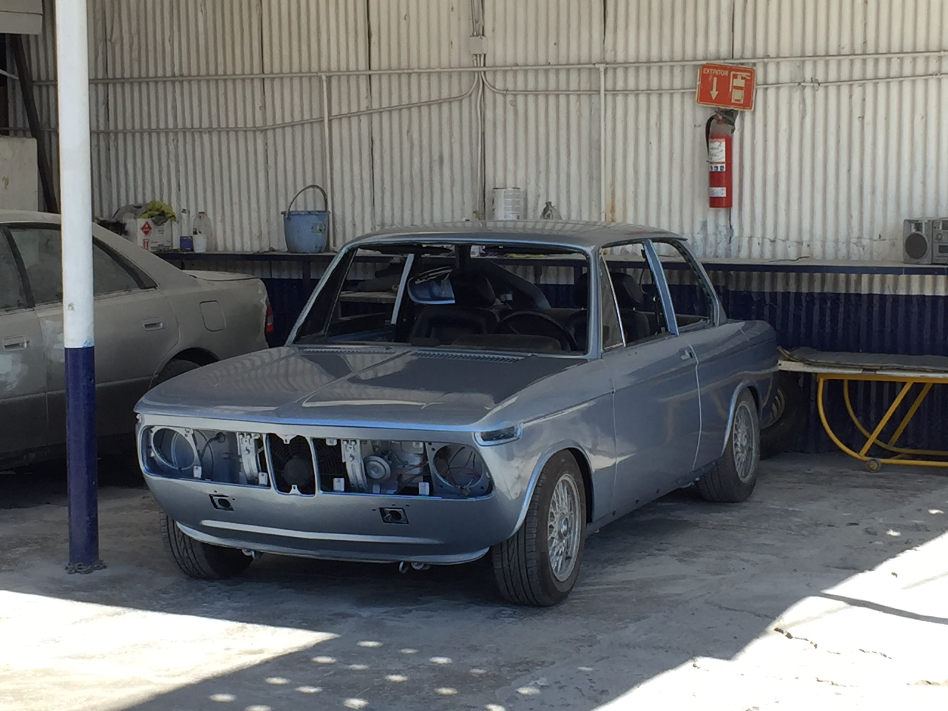 1976 BMW 2002 Resprayed in Fjord Blue!