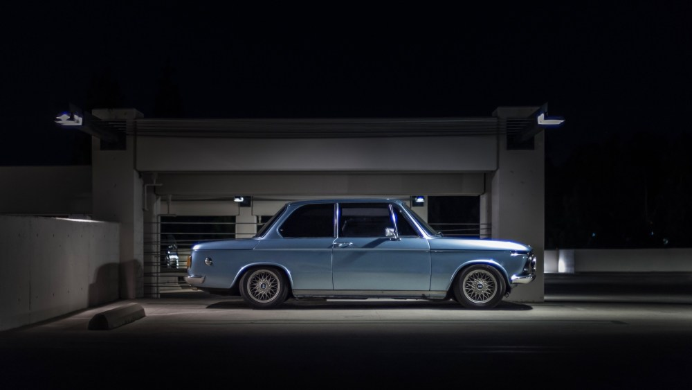 1976 BMW 2002 in Fjord Blue Bbs