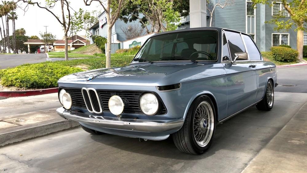 1976 BMW 2002 Fjord Blue Restomod