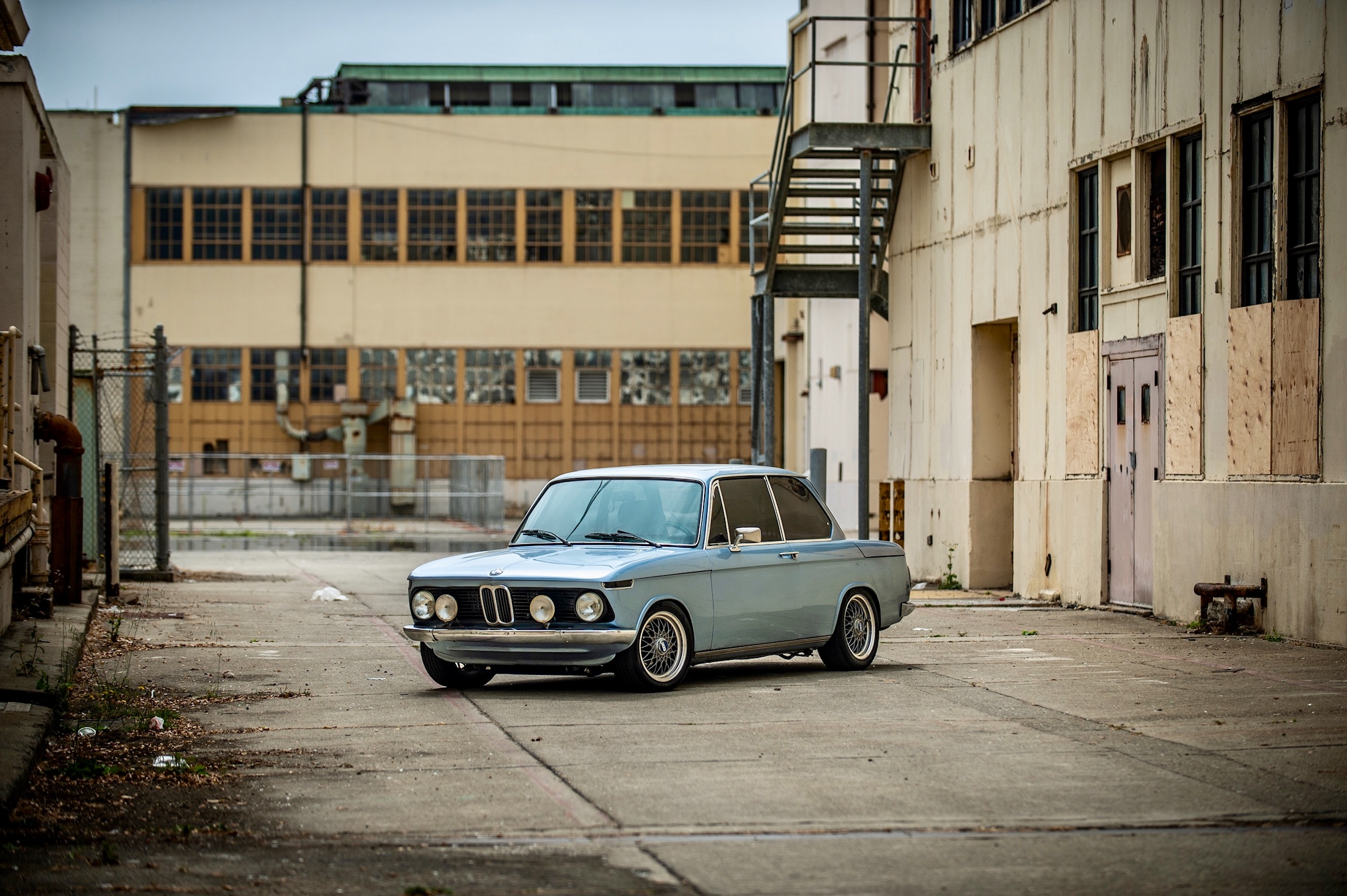 1976 Fjord Blue BMW 2002