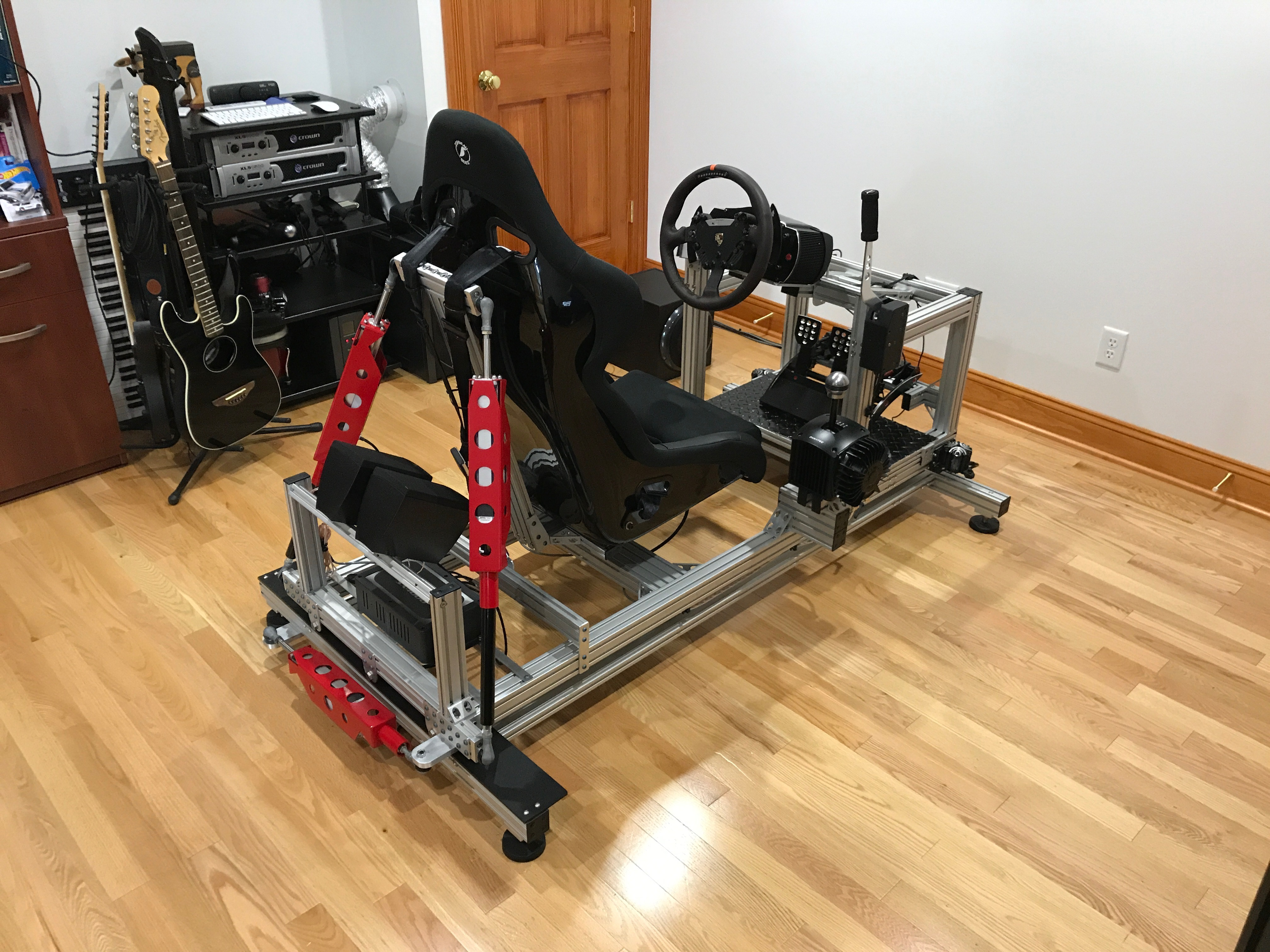 racing simulator chair plans overstock leather my sim motion rig version 2 daniel chote s project blog