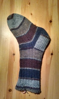 The first Nice Ribbed Sock