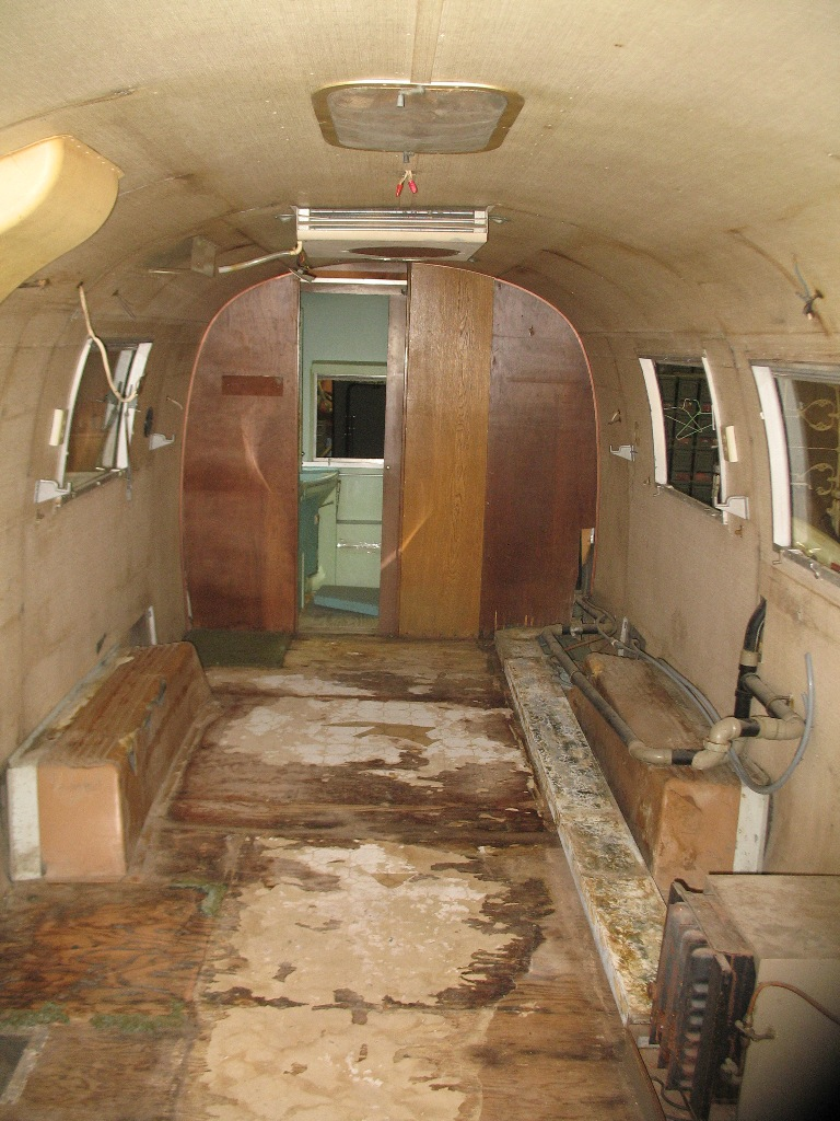 kitchen linoleum building a island project airstream | 1967 & 1977 sovereign ...
