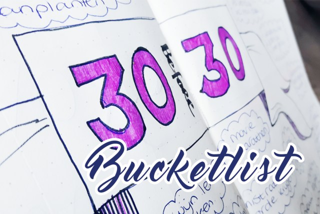 Project Apart - Bucketlist 30 before 30
