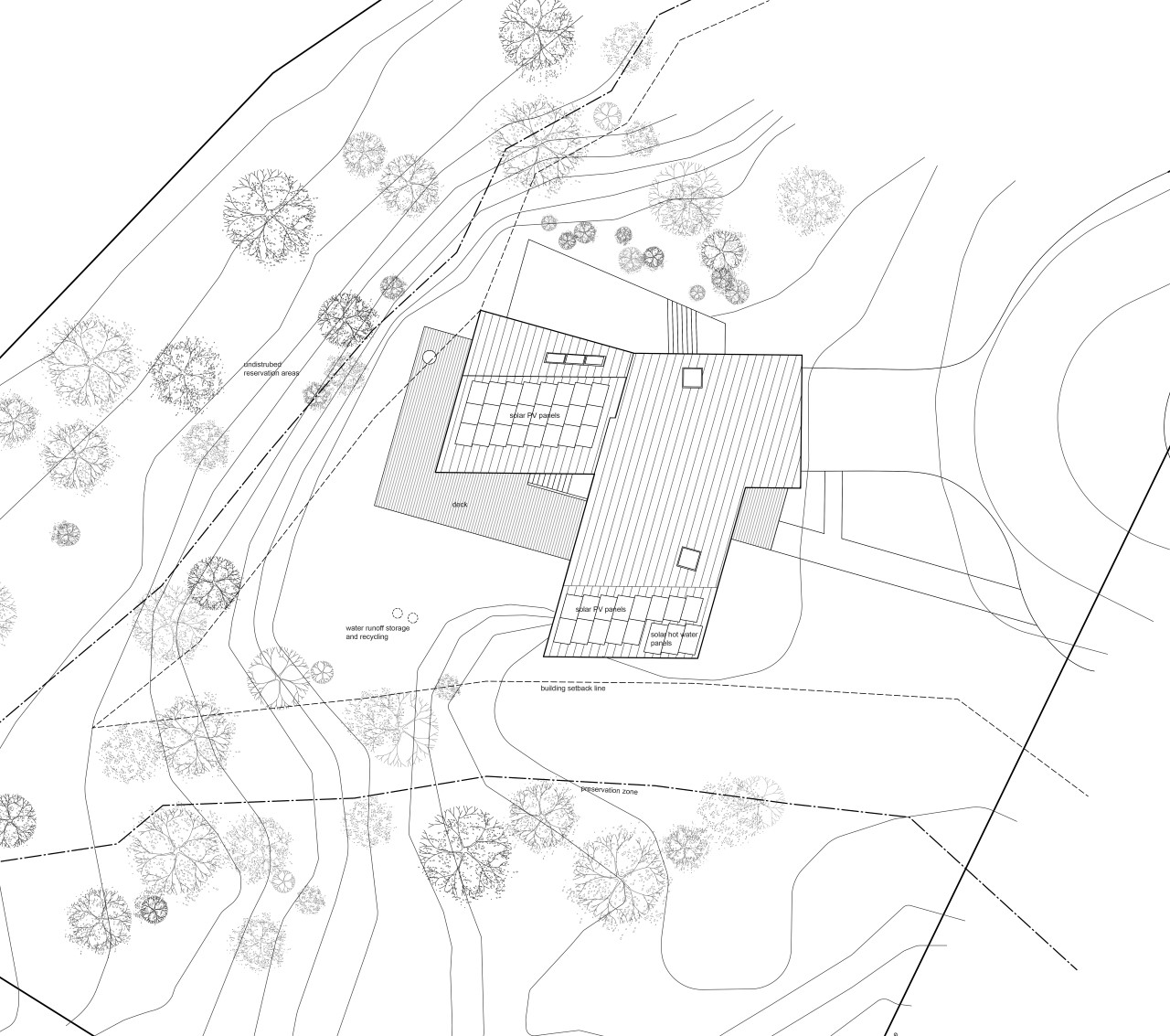 Tung House Site Plan Project Architecture