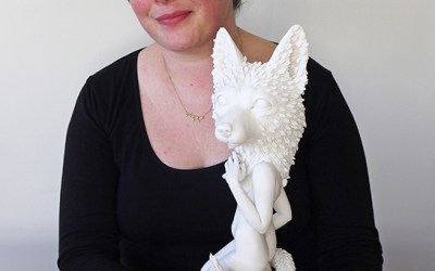 CRYSTAL MOREY | Figural Sculpture | Additive / Subtractive Processes in Porcelain | Demonstration Workshop | September 2019