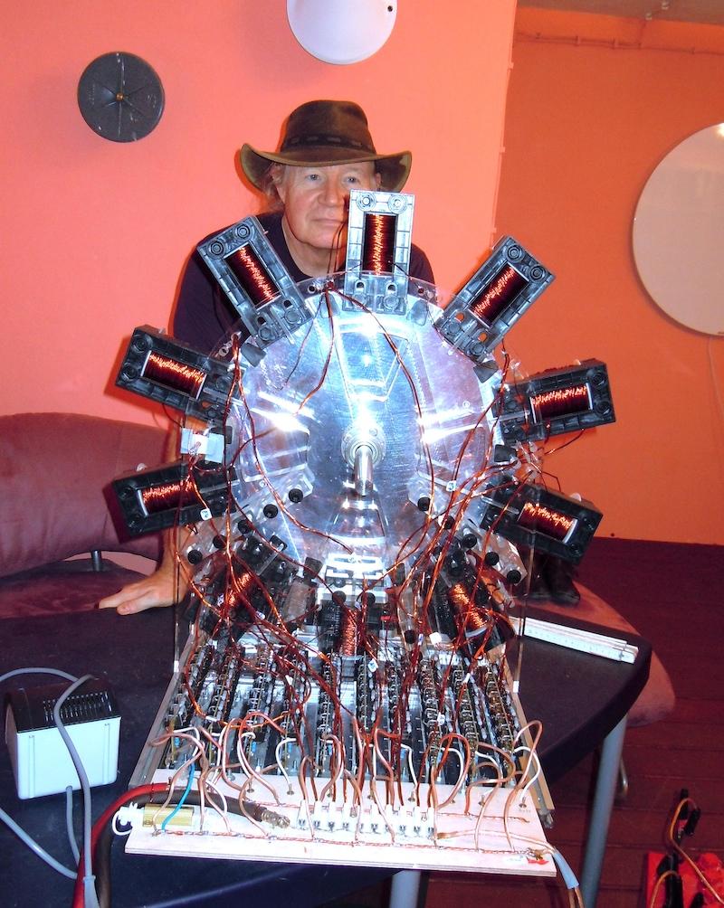 John C Bedini Free Energy Motor Generator Schematic