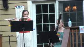 Flute and Bassoon Duet.