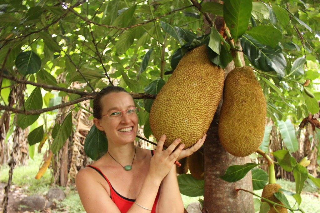 Liz With Jackfruit