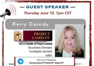 KERRY LIVE Q&A ON CONSERVATIVE PATRIOT NATION TELEGRAM CHANNEL