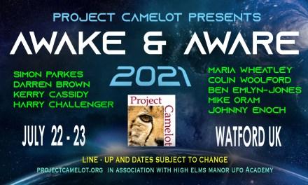 AWAKE & AWARE UK: JULY 22-23, 2021 – TICKETS ON SALE NOW