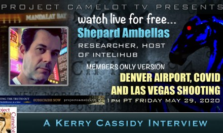 SHEPARD AMBELLAS :  RESEARCHER/HOST INTELIHUB: RE DENVER AIRPORT, VEGAS SHOOTING AND COVID