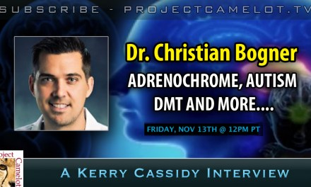 DR. CHRISTIAN BOGNER:  ADREN0CHROME, AUTISM, DMT AND MORE….