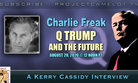 CHARLIE FREAK:  Q, TRUMP AND THE FUTURE