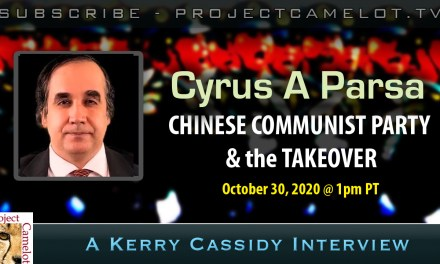 CYRUS PARSA:    CCP & THE TAKEOVER PLAN