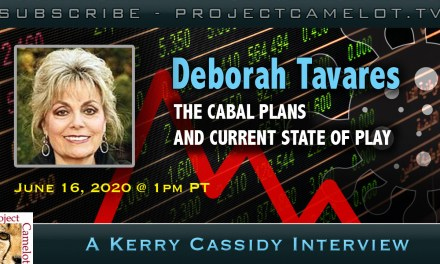 DEBORAH TAVARES:   CABAL PLANS AND CURRENT STATE OF PLAY