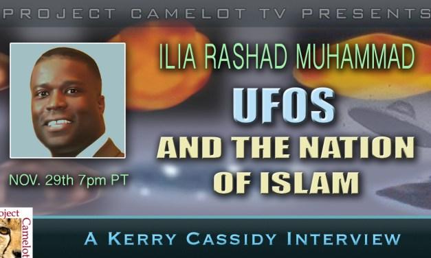 ILIA RASHAD MUHAMMAD : UFOS & ISLAM INTERVIEW THURSDAY